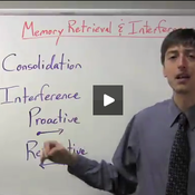 Memory Retrieval and Interference