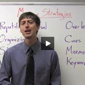 Strategies for Improving Memory