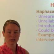 Haphazard Sample