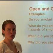 Open vs. Closed Question