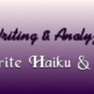 Read, write & analyze poetry (Haiku and free verse poetry)