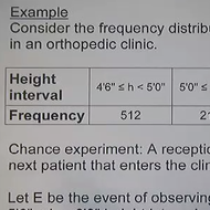 Relative Frequency Probability/Empirical Method