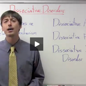 Mental Disorders- Dissociative Disorders