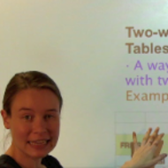 Two-Way Tables/Contingency Tables