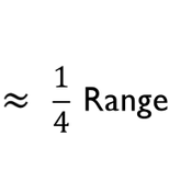 Range Rule of Thumb