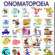 What is onomatopoeia?