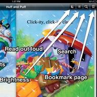 Navigating iBooks