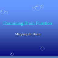 Examining Brain Function and Mapping the Brain