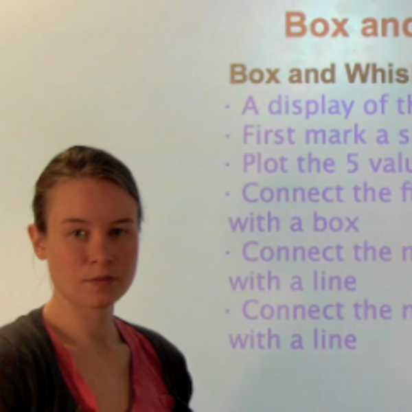 Box-and-Whisker Plot/Boxplot