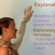 Explanatory and Response Variables