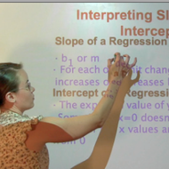Interpreting Intercept and Slope
