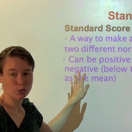 Standard Scores and Z-Scores
