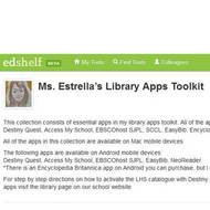 Video Tutorials on Ms. Estrella's Essential Library Apps