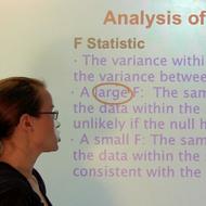 Analysis of Variance/ANOVA