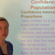 Confidence Interval for Population Proportion