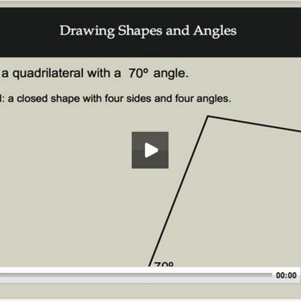 Drawing Shapes & Angles