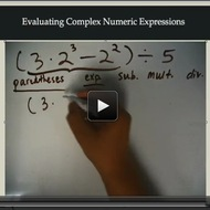 Evaluating Complex Numeric Expressions