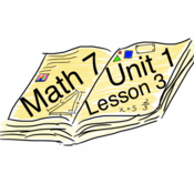 Math 7 :: Unit 1 : Lesson 3 : Adding Integers