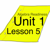 Algebra Readiness :: Unit 1 Lesson 5: Recognizing Properties of Numbers