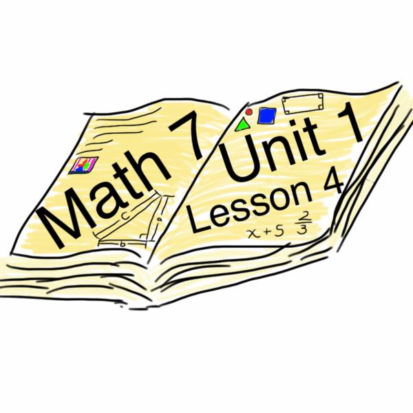 Math 7 :: Unit 1 : Lesson 4 : Subtracting Integers
