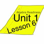 Algebra Readiness : Unit 1 : Lesson 6 : The Distributive Property