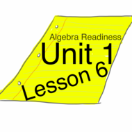 Algebra Readiness : Unit 1 : Lesson 6 : The Distributive Property