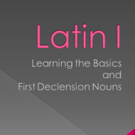 Latin I: Learning the Basics