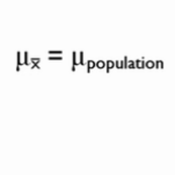 Distribution of Sample Means