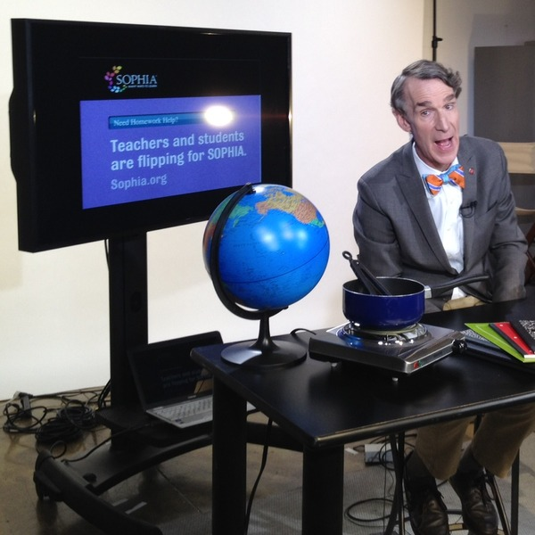 Bill Nye Webcast
