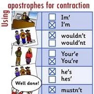 Apostrophes in contractions