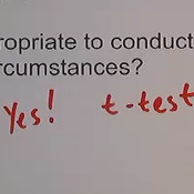 Conditions for Z-Tests and T-Tests