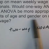 One-Way ANOVA/Two-Way ANOVA