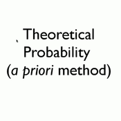 Theoretical Probability/A Priori Method