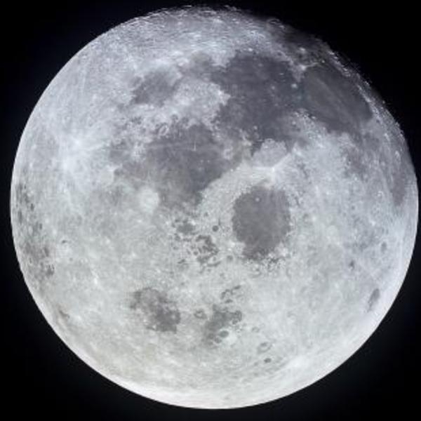 Earth's side of the moon.