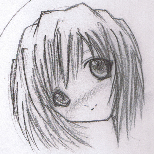 Drawing manga a girl face