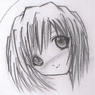 Drawing manga a girl face
