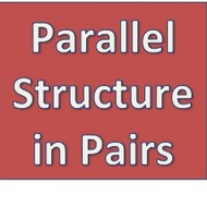 Parallel Structure in Pairs