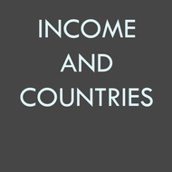High, Middle and Low Income Countries