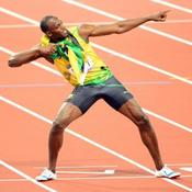 Instantaneous velocity w/ Usain Bolt