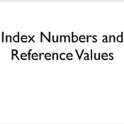 Index Number and Reference Value