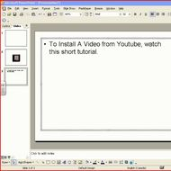 Install a YouTube video in your PowerPoint Presentation