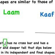 Alif Baa Unit 7 Part 1: Arabic Letters Faa, Qaaf, Kaaf