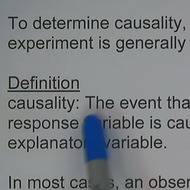 Establishing Causality