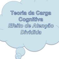 Teoria da Carga Cognitiva - Efeito de Atenção Dividida