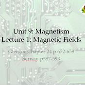 Magnetic field force on a charged particle