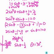 Solving Trig Equations-2