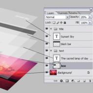 Основе о слојевима - Photoshop