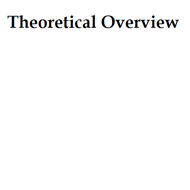 Theoretical Overview