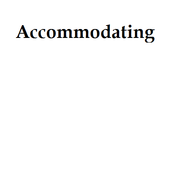 Accommodating