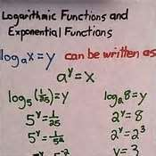 Lesson 6-1 Exponent / Logarithmic Conversions
